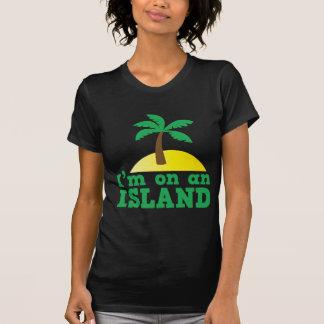 T-shirt Je suis sur une île