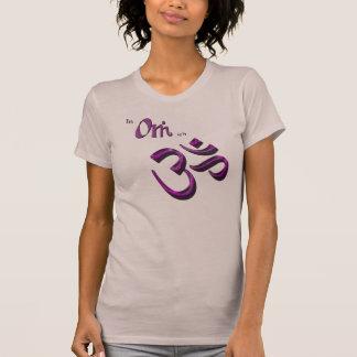 T-shirt Je suis symbole symbole bouddhiste/indou d'Aum