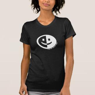 T-shirt Je suis T d'aucune femme ronde raciste (le noir)