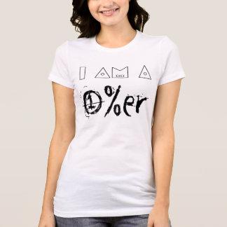 T-shirt Je suis un 1%er