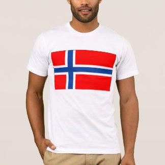 T-shirt Je suis un Américain norvégien
