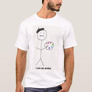 T-shirt je suis un artiste