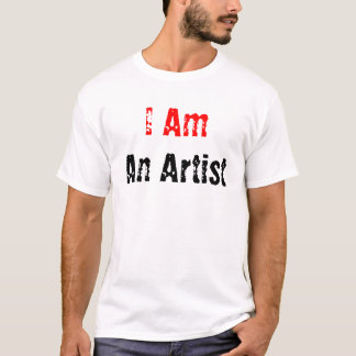 T-shirt Je suis, un artiste