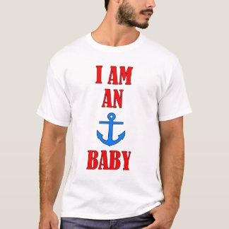 T-shirt Je suis un bébé d'ancre