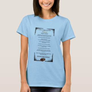 T-shirt Je suis un bibliophile
