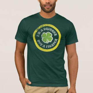 T-shirt Je suis un buveur pas un combattant
