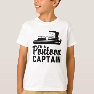 T-shirt Je suis un capitaine de ponton
