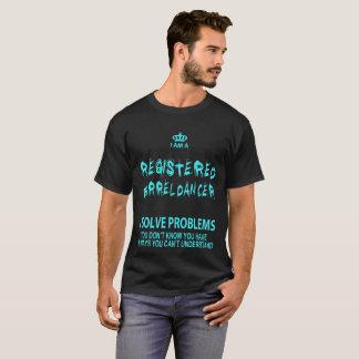 T-shirt Je suis un danseur enregistré de baril que je