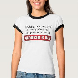 T-shirt Je suis un diabétique