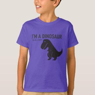 T-shirt Je suis un dinosaure