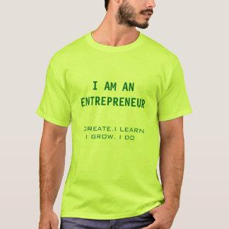 T-shirt Je suis un Entrpreneur