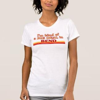 T-shirt Je suis un peu une AFFAIRE dans la courbure