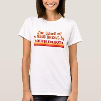 T-shirt Je suis un peu une AFFAIRE sur le Dakota du Sud