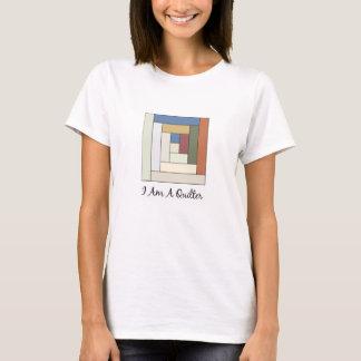 T-shirt Je suis un Quilter