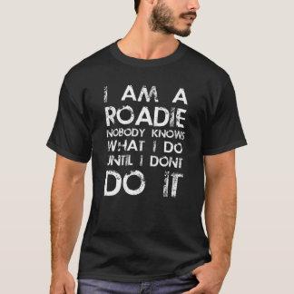 T-shirt Je suis un Roadie