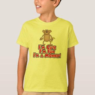 T-shirt Je suis un singe