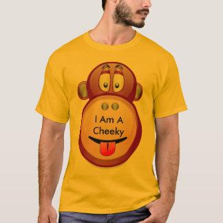 T-shirt Je suis un singe effronté
