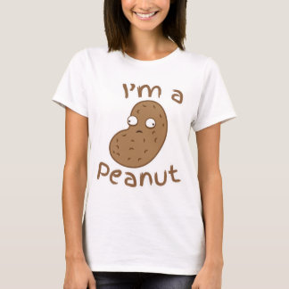 T-shirt Je suis une ARACHIDE