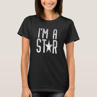 T-shirt Je suis une étoile