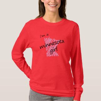 T-shirt Je suis une fille du Minnesota