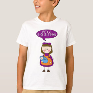 T-shirt je suis une grande soeur ! (garçon)
