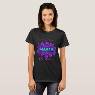 T-shirt Je suis une maman qui dechire