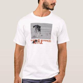 T-shirt Je suis une personnaliser joyeuse de Springer avec