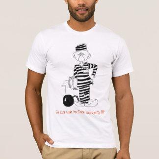 T-shirt Je suis une victime innocente -