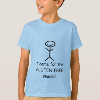 T-shirt Je suis venu pour le GLUTEN…
