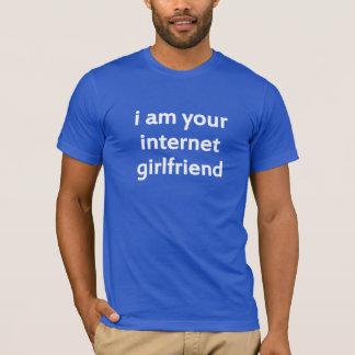 T-shirt je suis votre amie d'Internet