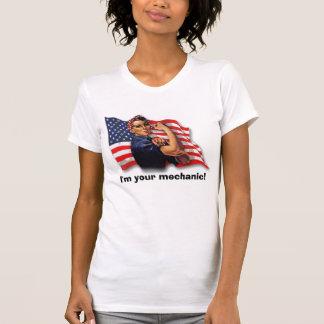 T-shirt Je suis votre mécanicien !