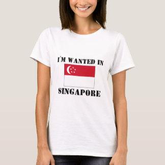 T-shirt Je suis voulu à Singapour
