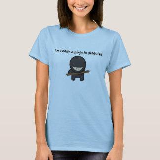 T-shirt Je suis vraiment un Ninja dans le déguisement
