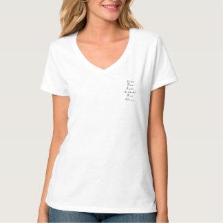 T-shirt Je t'aime dans toutes les langues