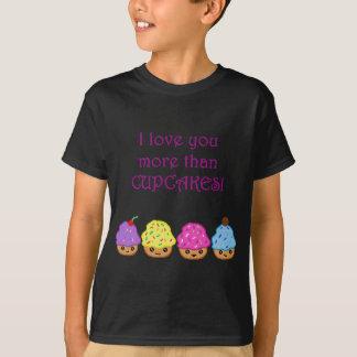 T-shirt Je t'aime plus que des petits gâteaux