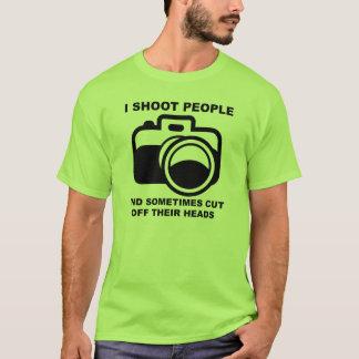 T-shirt Je tire la photographie drôle Shir de photographe