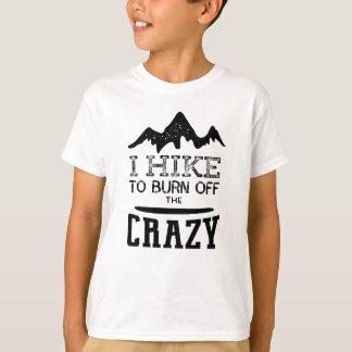 T-shirt Je trimarde pour consommer le fou
