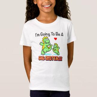 """T-Shirt """"Je vais être la chemise d'une fille de grande"""