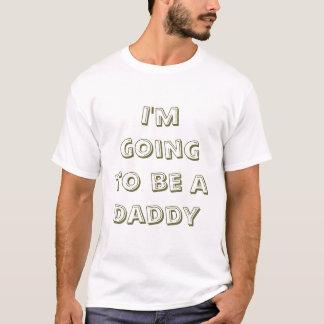 T-shirt Je vais être un papa