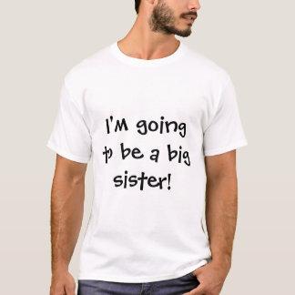 T-shirt Je vais être une grande soeur !