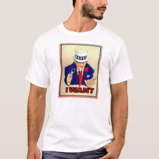 T-shirt Je veux