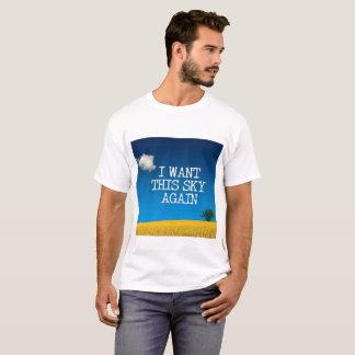 T-shirt Je veux ce ciel encore….Interdiction