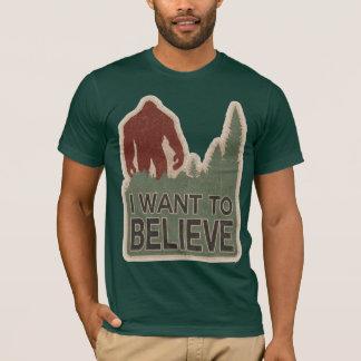 T-shirt Je veux croire
