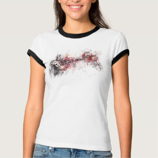 T-shirt Je veux démolir… (adaptation de peinture)