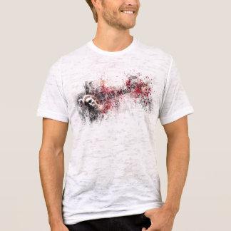 T-shirt Je veux démolir… (T-shirt du burn-out des hommes)
