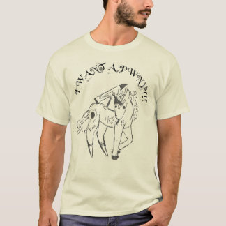 T-shirt Je veux PWNY
