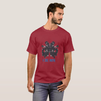 T-shirt Je vois la pièce en t de couleur d'espoir