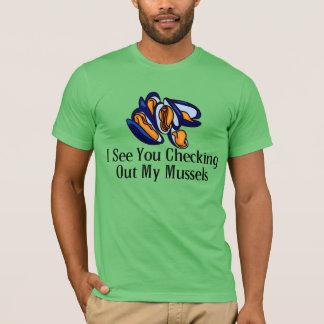 T-shirt Je vois votre vérification de mes moules