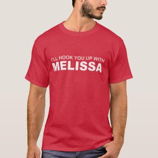 T-shirt Je vous accrocherai avec l'essence de mélisse de