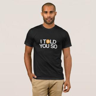 T-shirt Je vous ai dits ainsi